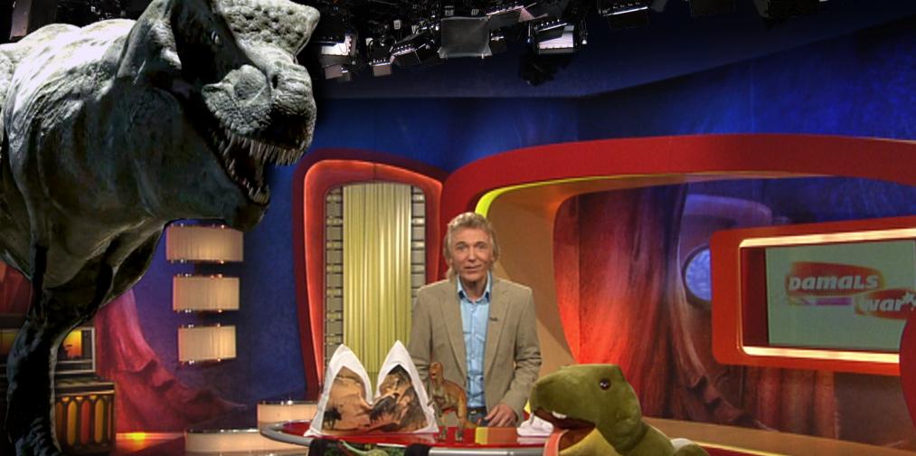 Dinosaurier im Studio! - Ein kleines Making of
