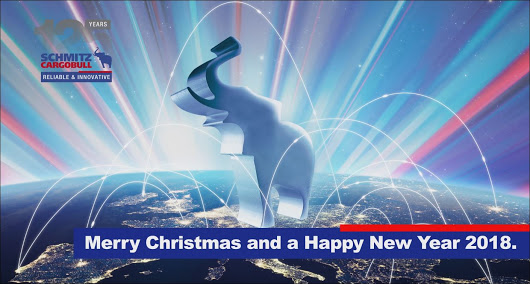 Weihnachtsanimation für Schmitz-Cargobull