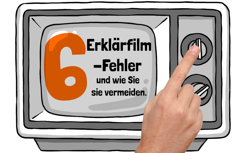 6 Erklärfilmfehler auf screen