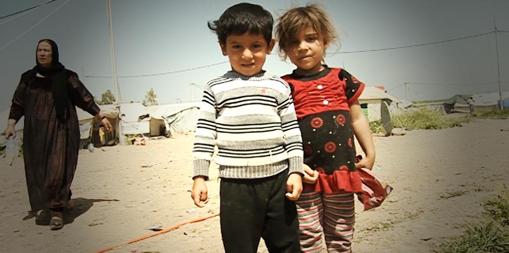 Flüchtlingskinder in irakisch Kurdistan