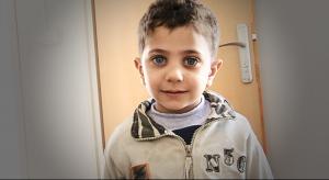 Aktion Hoffnungsschimmer - Flüchtlingsjunge in irakisch Kurdistan