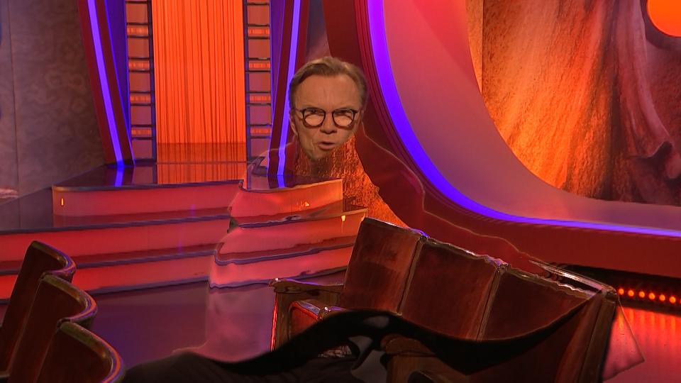 Wolfgang Lippert bei Damals war´s im MDR - VFX