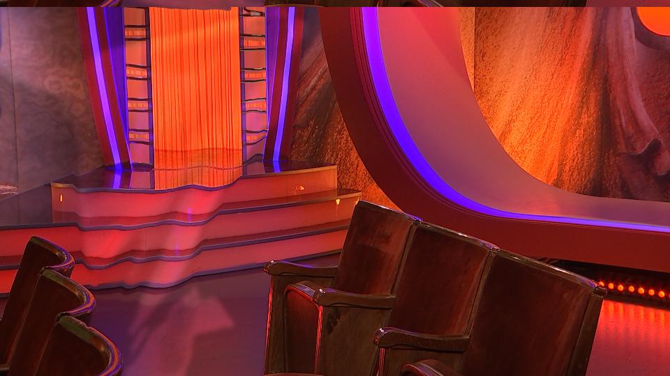 VFX für MDR 3 - Background plate mit Displacement