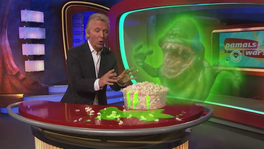 Making off: Slimer in Damals war´s